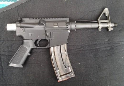 Make A Gun Using A 3D Printer? Uh-Oh