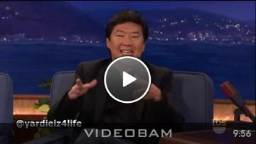 Ken Jeong Interview w/Conan O'Brien (Video)