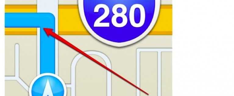 Where Does The Icon For Apple Maps App Tell You To Go? Off A Bridge?