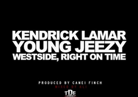 Kendrick Lamar (@KendrickLamar) – Westside, Right On Time ft. Young Jeezy (@OfficialTM103) x Bend Ya Feat @Frank_Ocean