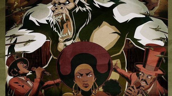 Black Dynamite S1,E8 – Honky Kong or White Apes Cant Hump [Full Video]